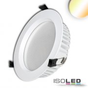LED Downlight UGR<19, 25W, rund 170mm, CRI90, Colorswitch...