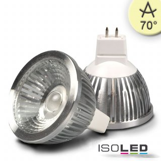 MR16 LED Strahler 5,5W COB, 70° warmweiß, dimmbar