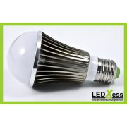 LED Retrofit E27 Bulb 5*1W blau