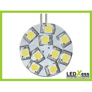 LED Retrofit G4 10x SMD blau