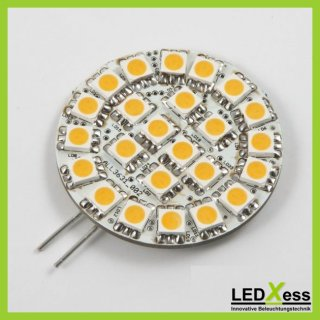 LED Retrofit G4 24x SMD 5050 blau