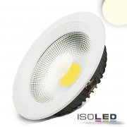 LED Reflektor Downlight 30W COB, weiss, neutralweiss