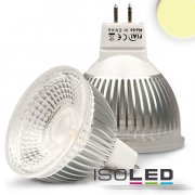 MR16 LED Strahler 5,5W GLAS-COB , 70° warmweiss