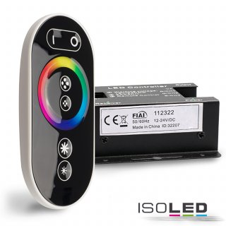 Wireless touch RGB Controller, 12-24V, 432W