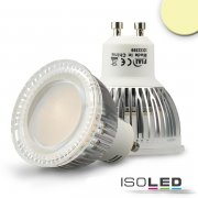 GU10 LED Strahler 6W Glas diffuse, warmweiss