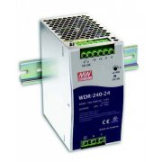 MEANWELL WDR-240-24 - Netzteil CV 24V/DC, max. 10A, 240W,...