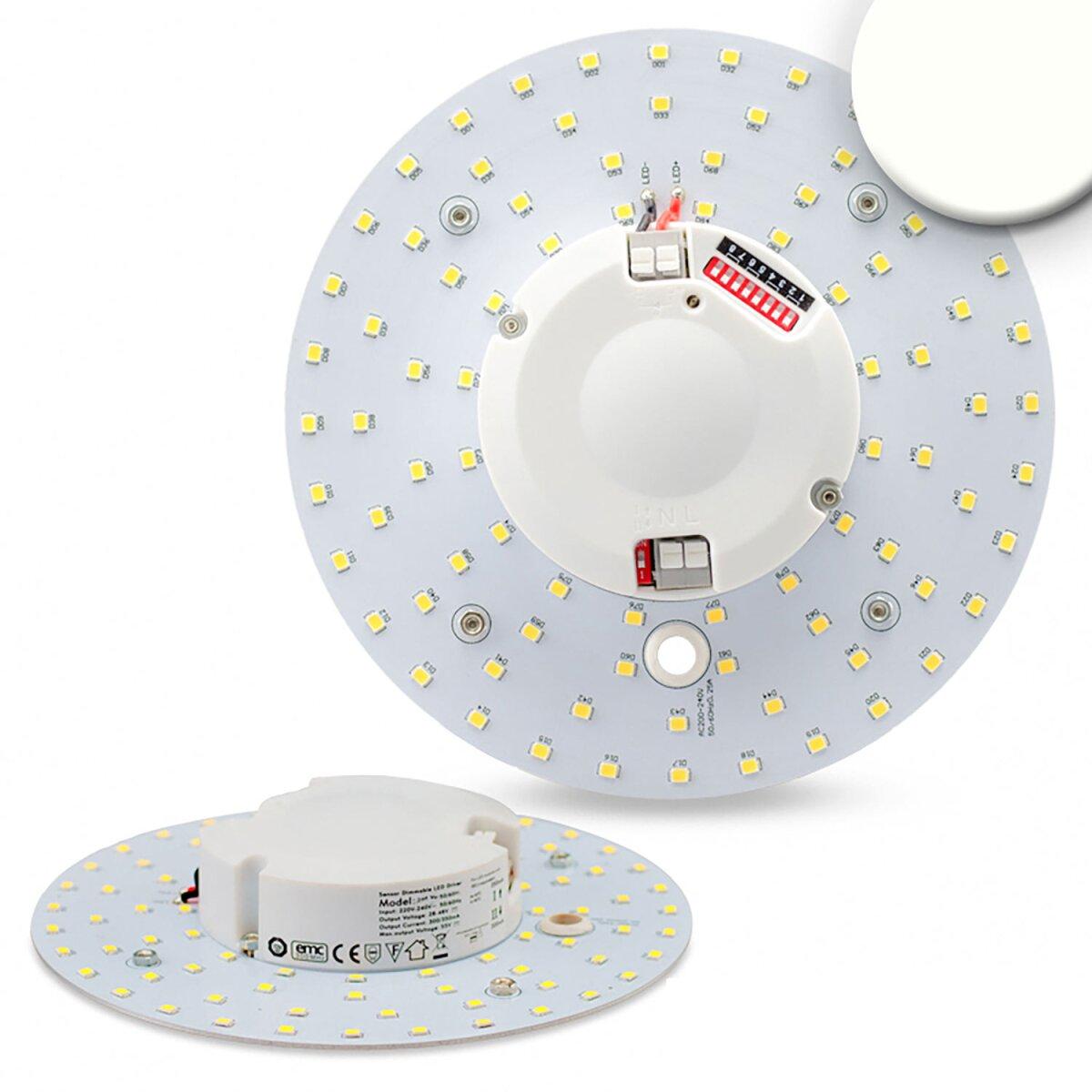 LED Umrüstplatine Radarsensor 160mm, 14W, mit Magnet, neutralwei