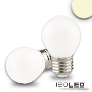 E27 LED Illu, 4 Watt, milky, warmweiss, dimmbar