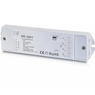 SYS-ONE / EOS0X 4-Kanal Repeater, 12-36V/DC