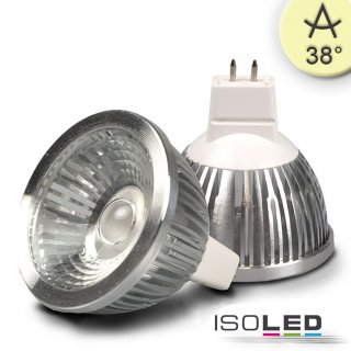 MR16 LED Strahler 5,5W COB, 38° warmweiß, dimmbar