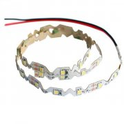 LED Flex Strip 24V/DC, 14,4W/m (72W), warmweiß, S-SHAPE