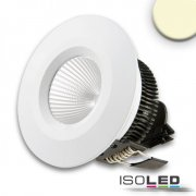 LED Downlight COB, IP54, 8W, Aluminium weiß, warmweiß,...