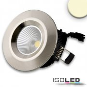 LED Downlight COB, IP54, 8W, Aluminium gebürstet,...