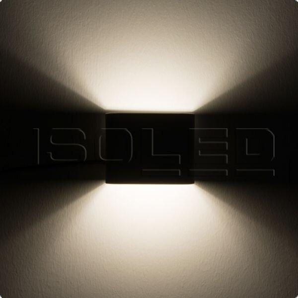 led wandleuchte up down 100 6w wei warmwei ledxess innovativ 29 95. Black Bedroom Furniture Sets. Home Design Ideas