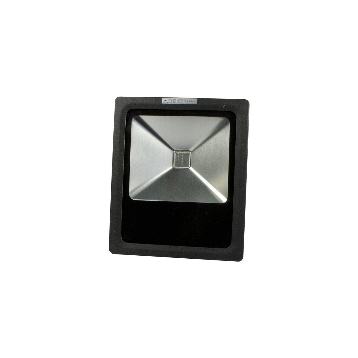 led spot outdoor baustrahler schwarz 20w rgb mit fernbedienung 44 99. Black Bedroom Furniture Sets. Home Design Ideas