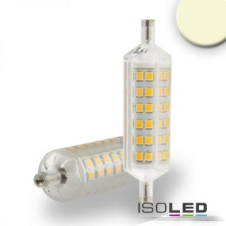 R7s LED Stab SLIM, 5W, 72 SMD, L: 78mm, dimmbar, warmweiß