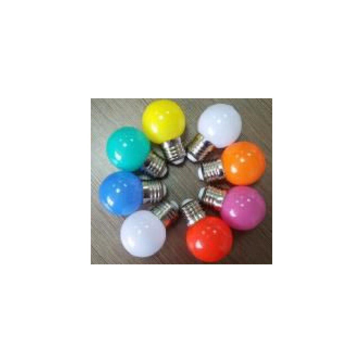 led retrofit e27 tropfenlampe g45 1 watt verschiedene farben ledx 1 49. Black Bedroom Furniture Sets. Home Design Ideas