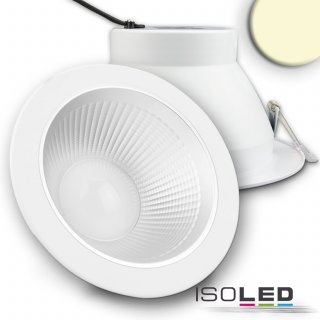 LED Reflektor Downlight 30W, 60°, CRI95, UGR<19, warmweiß 3000K