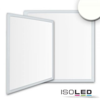 LED Panel Business Line 625 UGR<19 2H, 36W, Rahmen silber, neutralweiß, DALI dimmbar