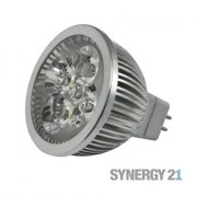 LED Retrofit GX5,3 4x1W rot - dimmbar
