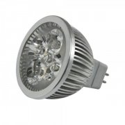 LED Retrofit GX5,3 4x1W amber/orange