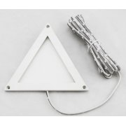 LED Panel MINI 100 TRIANGLE, 2W, 12V/DC, warmweiss, dimmbar