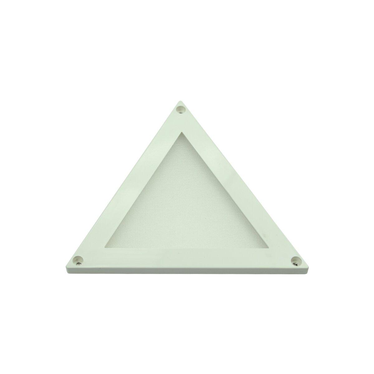 led panel mini 100 triangle 12v dc neutralweiss dimmbar 16 95. Black Bedroom Furniture Sets. Home Design Ideas