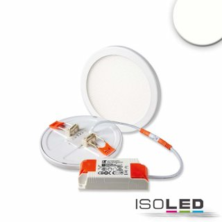 LED Einbau-Downlight FLEX -  8W, UGR<19, 120°, Lochausschnitt 50-100mm, neutralweiß