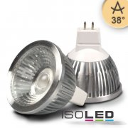 MR16 LED Strahler 5,5W COB, 38° ultra-warmweiß, dimmbar