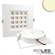 LED Downlight PRISM - 10W, IP54, warmweiß, dimmbar