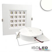 LED Downlight PRISM - 10W, IP54, neutralweiß, dimmbar