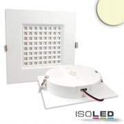 LED Downlight PRISM - 25W, IP54, warmweiß, dimmbar