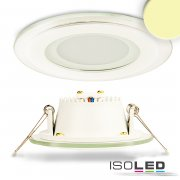 LED Downlight GLASS, 6W, warmweiß