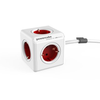 ALLOCACOC PowerCube Extended - 1,5m - weiss/rot