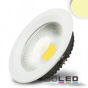LED Reflektor Downlight 30W COB, weiss, warmweiss