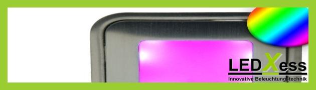Bodeneinbaustrahler SLIM RGB